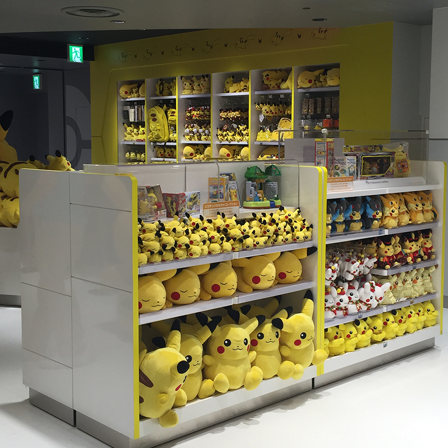 Instead They Turned A Section Of The Mega Tokyo Center Store Into Pikachu So Two Stores Are One And Same With Main Difference