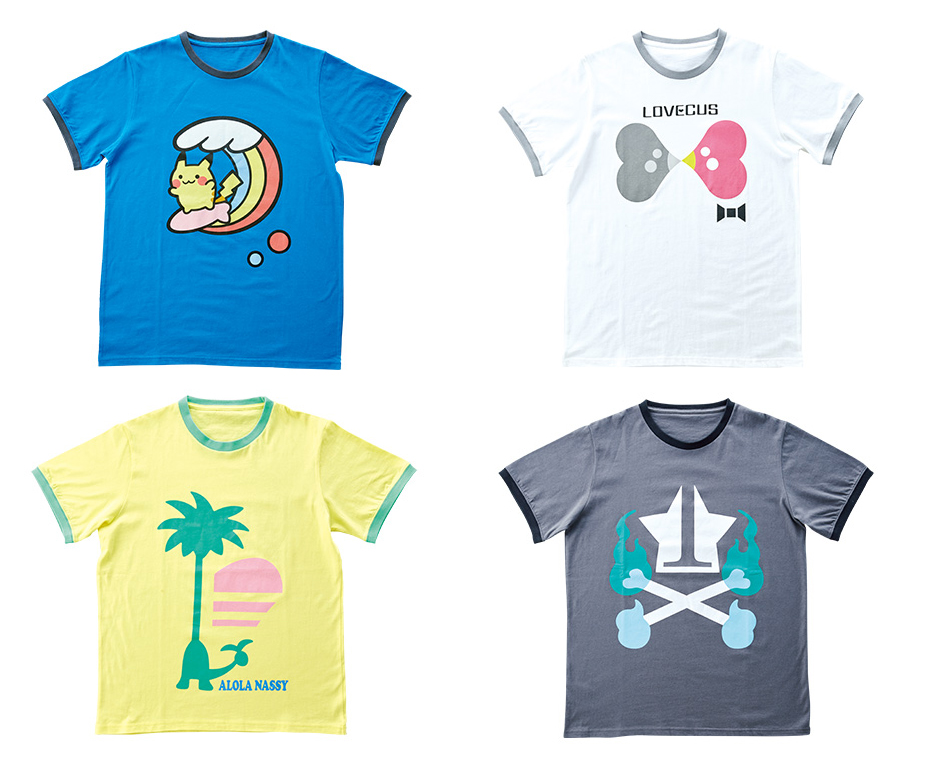 e3d70b9a6 If you were sad about the lack of new t-shirts and pins with a more Alola  feel to them, then I have good news and bad news. The good news is: tada!