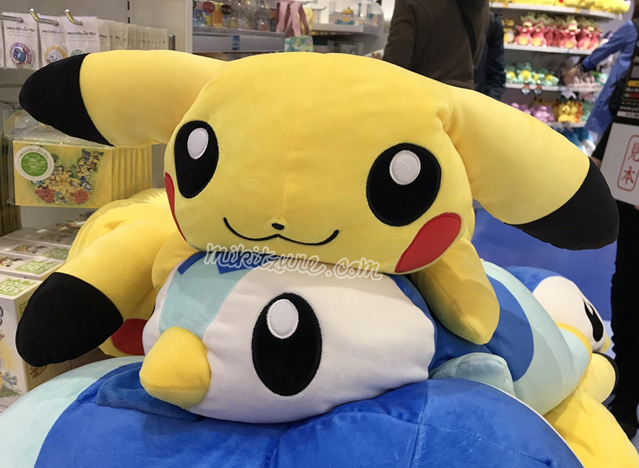 Pokemon Center Report – Kuttari Plush Promotion + Pokemon the Movie Merch