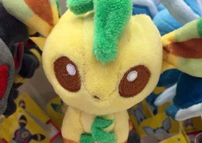 Leafeon Mascot Plush