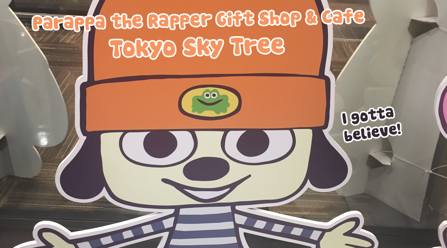Adventures in Japan – Parappa the Rapper 20th Annivesary Cafe