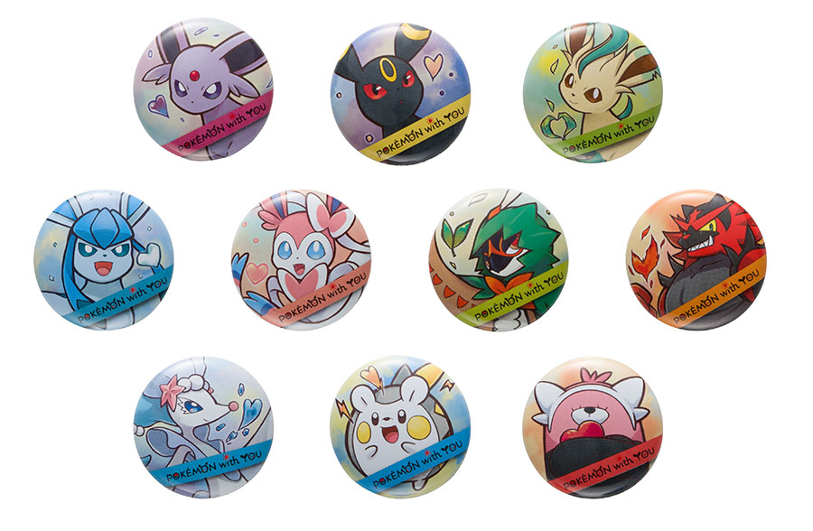 Pokemon With You Charity Badges