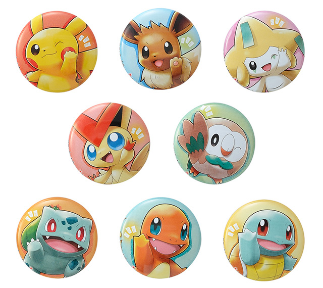 Pokemon Center Pokemon With You Tohoku Can Badge