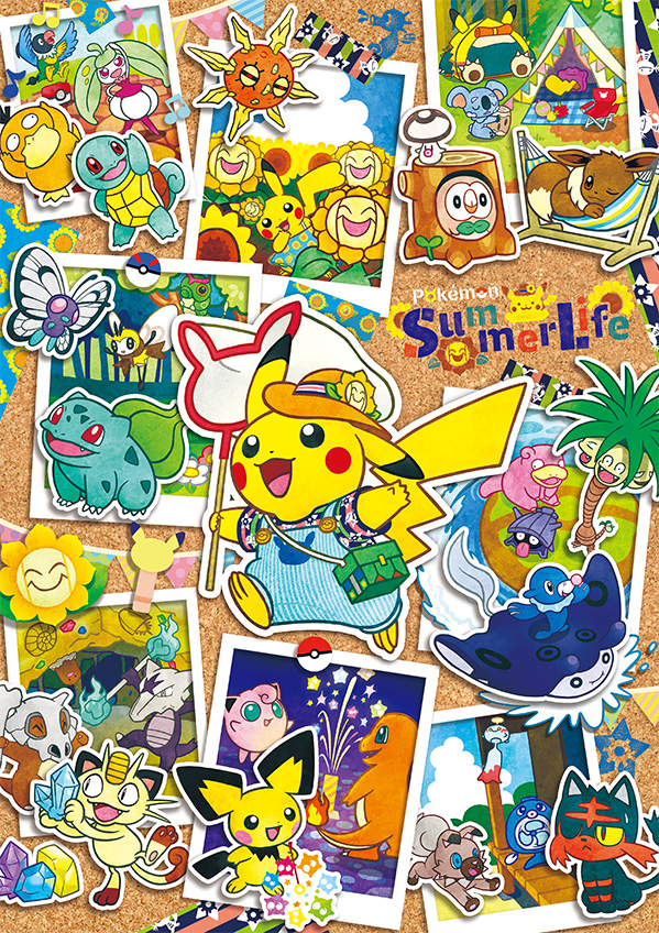 Pokemon Center Pokemon Summer Time