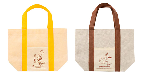 Pokemon Center tote bag Pikachu Eevee