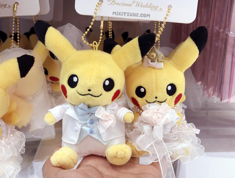 Pokemon Center Pikachu Precious Wedding