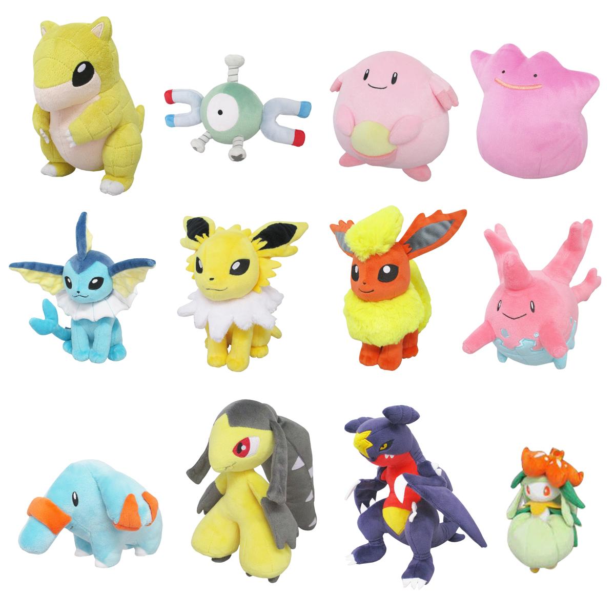 Pokemon Plush San-ei All Star