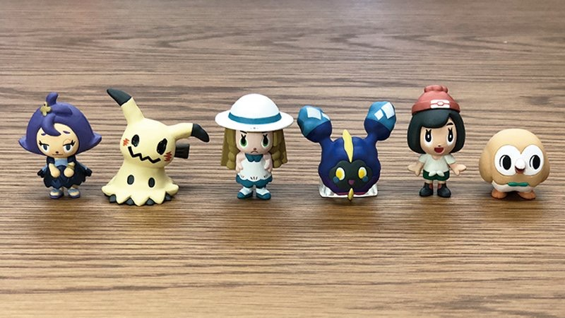 Pokemon Time Vol 11 Pokemon Center Gacha Figures