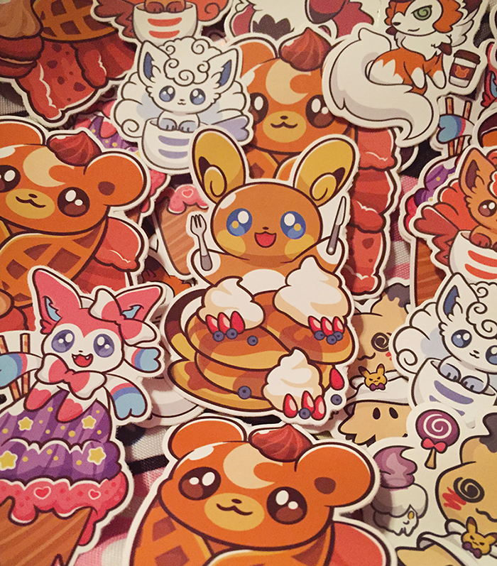 Miki Pokemon Stickers