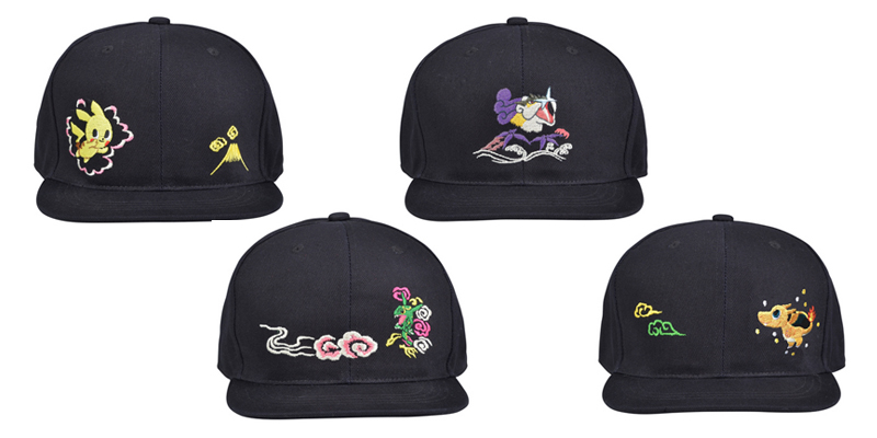 Pokemon Time Vol 11 Pokemon Center Skajan Hats
