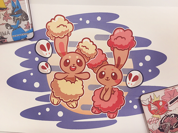 Mikitzune Zombiemiki Pokemon Art Buneary Tsukimi