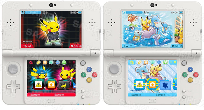 Pokemon Nintendo 3DS Themes