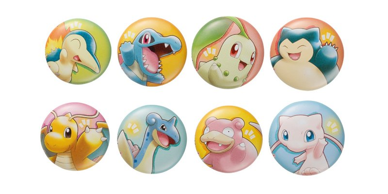Pokemon Center Pokemon With You Can Badge