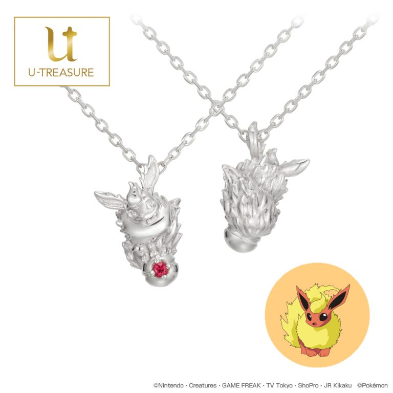Pokemon U-Treasure Jewelry Flareon