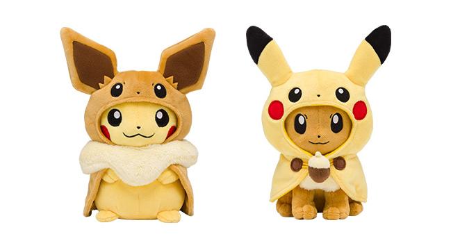 Pokemon Center Fan of Pikachu & Eevee