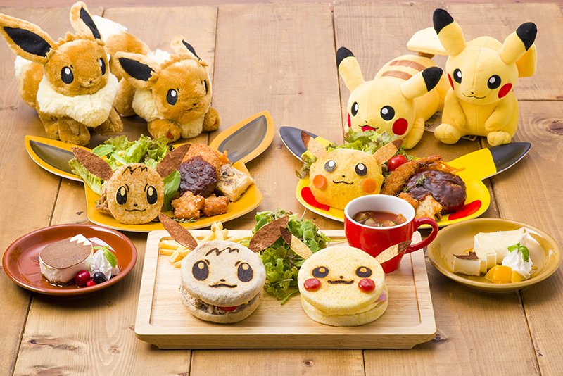 Pokemon Center Pokemon Cafe Pikachu Eevee