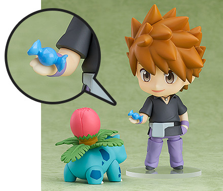 Pokemon Center Good Smile Green Nendoroid