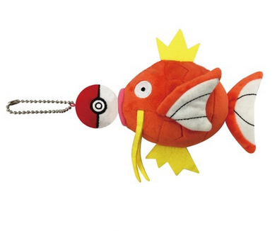 Pokemon Center Magikarp Mascot Plush
