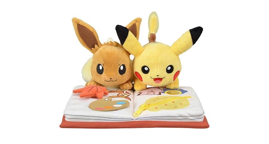 Pokemon Center Seasons Pikachu & Eevee