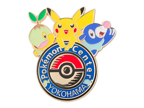 Yokohama Pokemon Center Renewal Logo