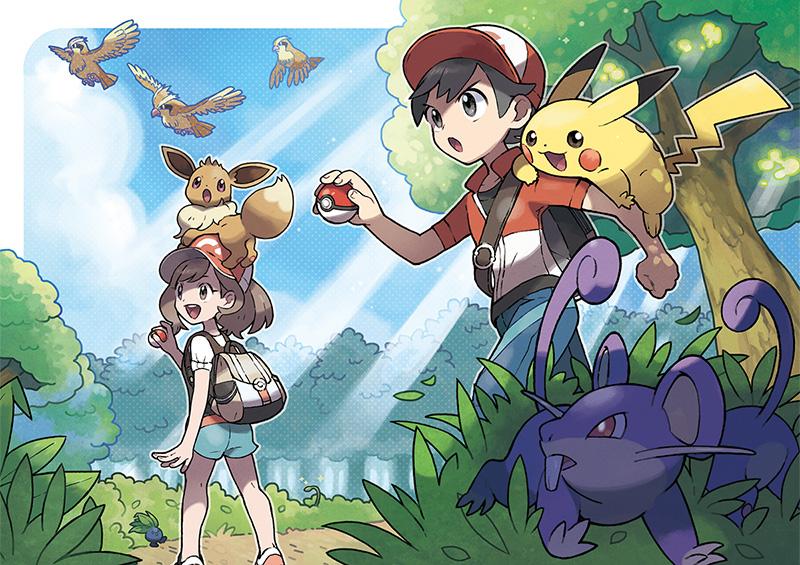 Pokemon Center Pokemon Let's Go Pikachu Eevee