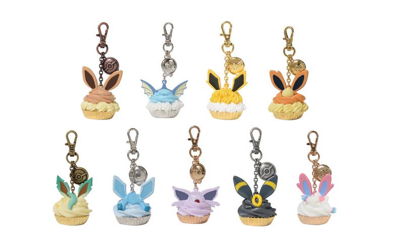 Pokemon Center QPot Eeveelution Bag Charm