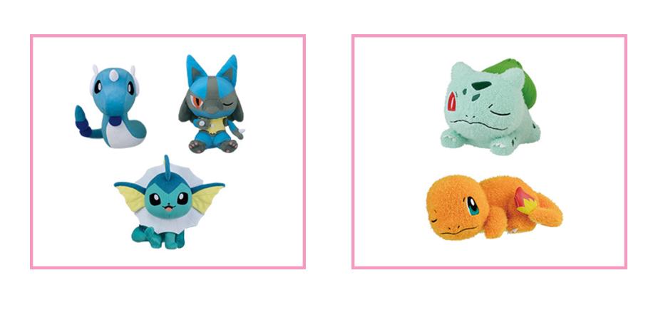 Banpresto Pokemon Plush Prize Korotto Manmaru Kutsurogi Time