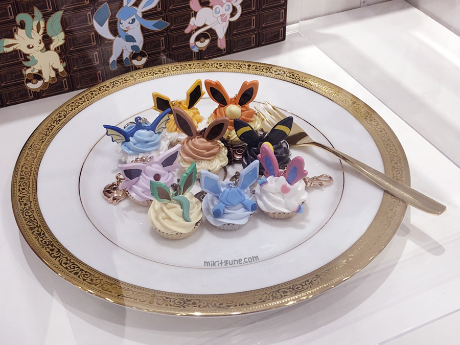 Pokemon Center Q-Pot Eeveelution Bag Charm