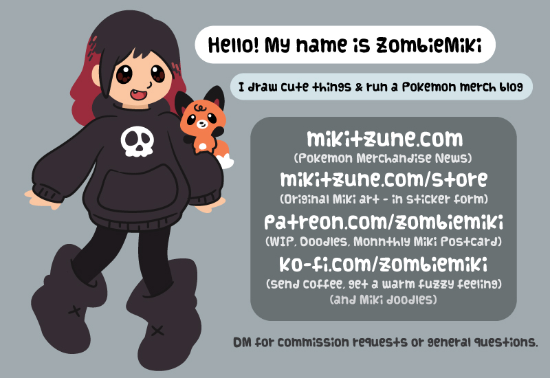 Mikitzune Zombie Miki Art Commissions and Support