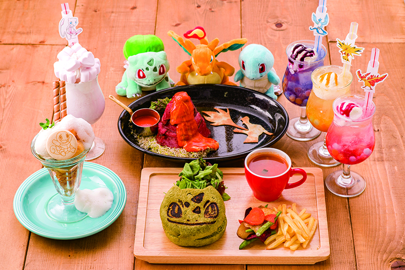 Pokemon Center Official Cafe Pikachu Eevee