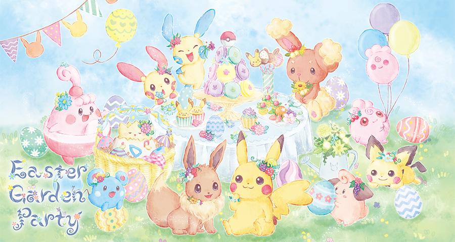 Pokemon Center Easter Garden Party Easter 2019