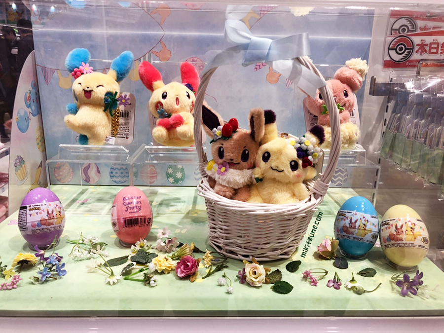 Pokemon Center Easter Spring