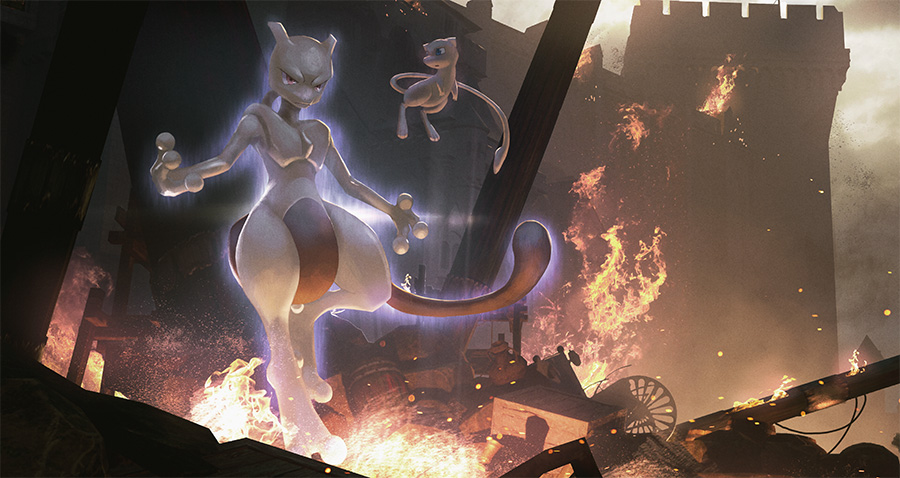 Pokemon Center Mewtwo Strikes Back Evolution