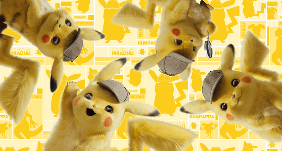 Pokemon Center Detective Pikachu Movie