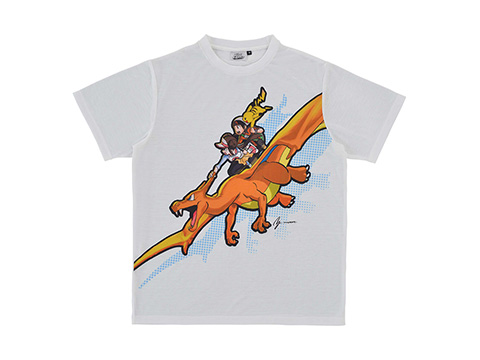 a0d21bd94 T-Shirt (Ultra Necrozma Full Print / Comic Style | S/M/L/XL) – 5,400 yen  each. T-Shirt (Charizard | S/M/L/XL) – 3,996 yen each