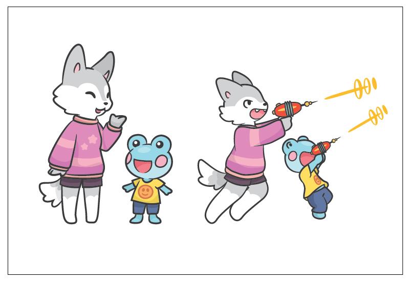 Miki Commission Illustration