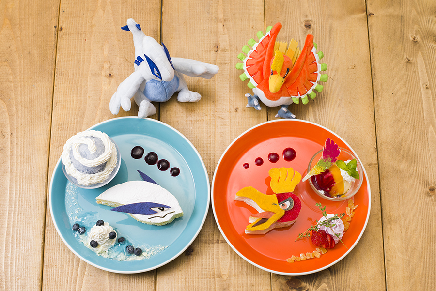 Pokemon Center Cafe News Lugia Ho-oh
