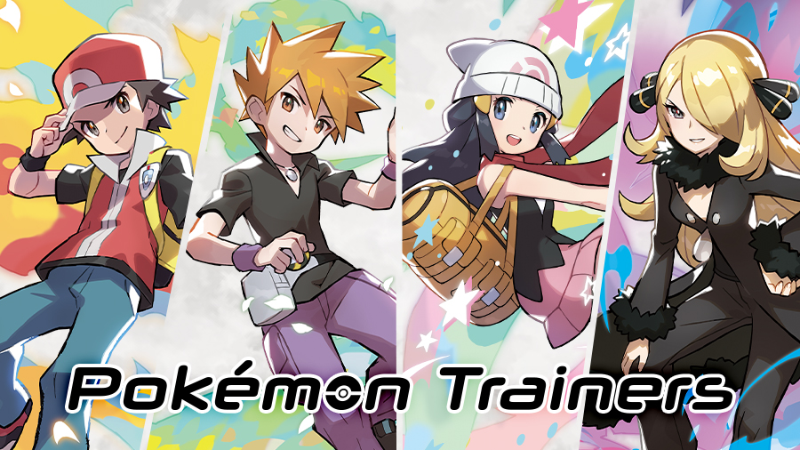 Pokemon Center Pokemon Trainers Pokemon Masters
