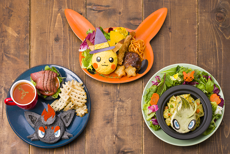Pokemon Center Cafe Halloween