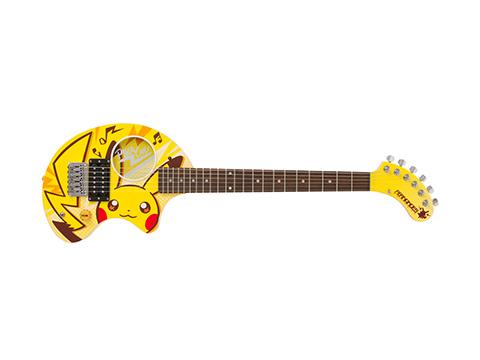 Pokemon Center Rock Festival Pikachu Fernandes Electric Guitar