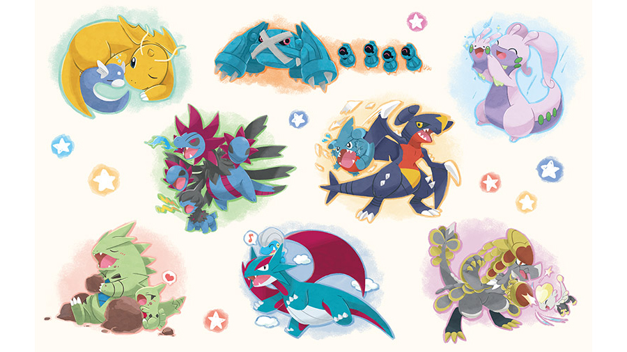 Pokemon Center Glow Up Late Bloomer Collection