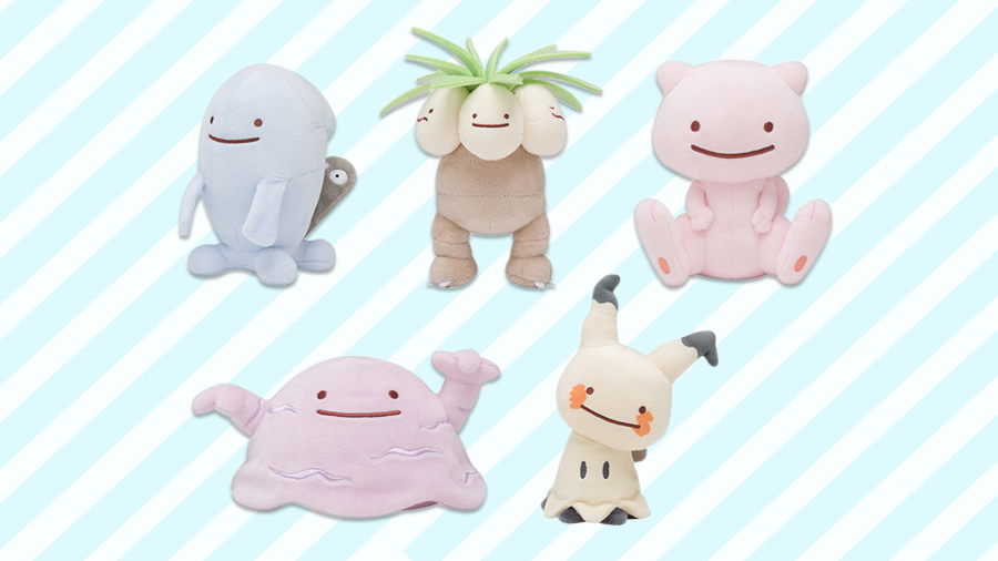 Pokemon Center Ditto Transform Muk Exeggutor Mew Wobbuffet Mimikyu