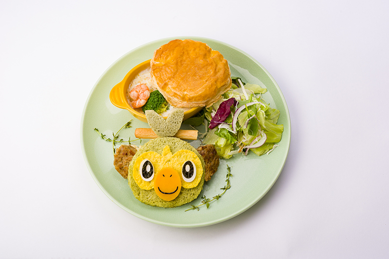 Pokemon Center Cafe Grookey