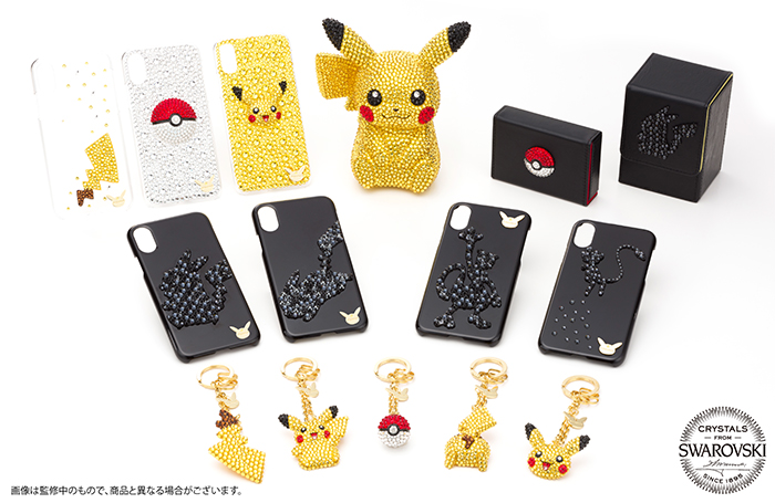Pokemon Center Shibuya Swarovski Crystal